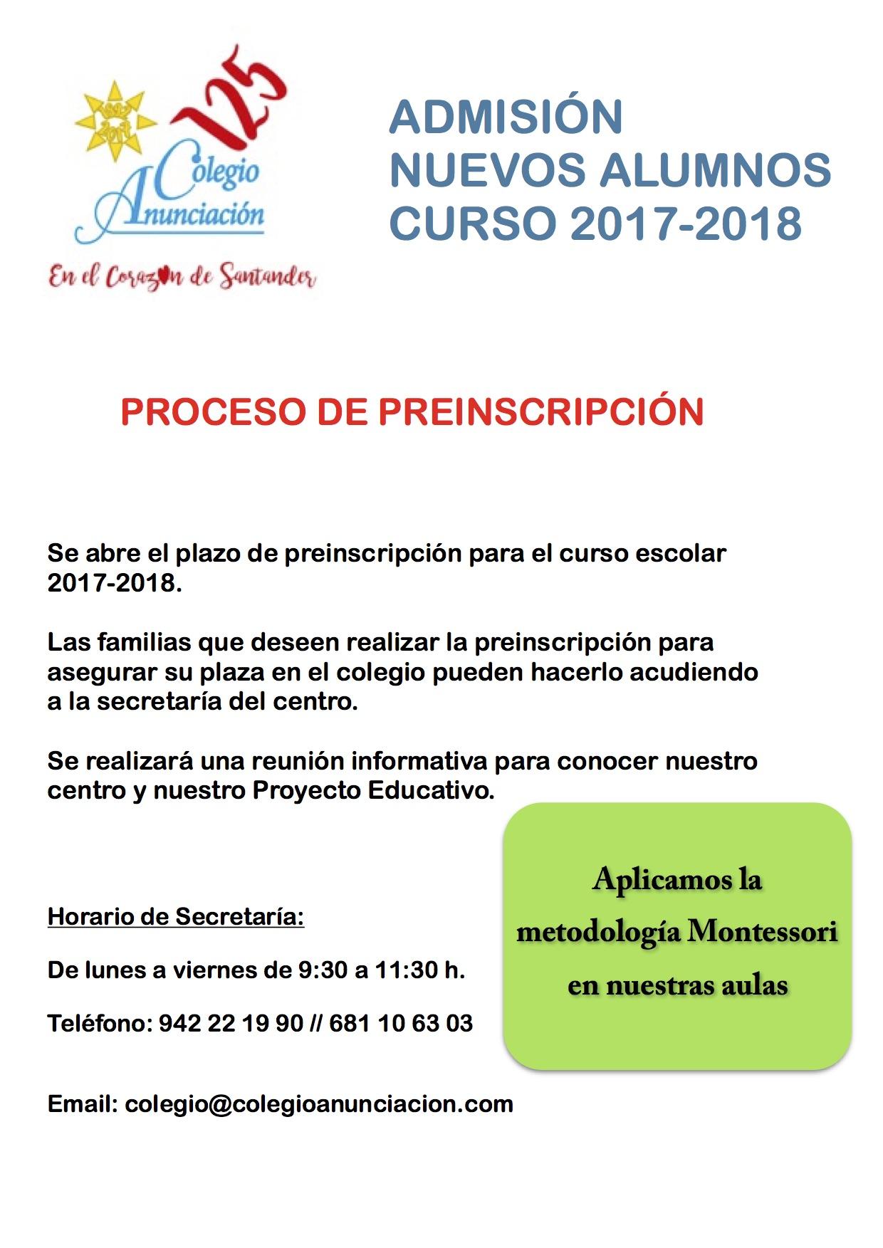Proceso de preinscripción 11.45.24