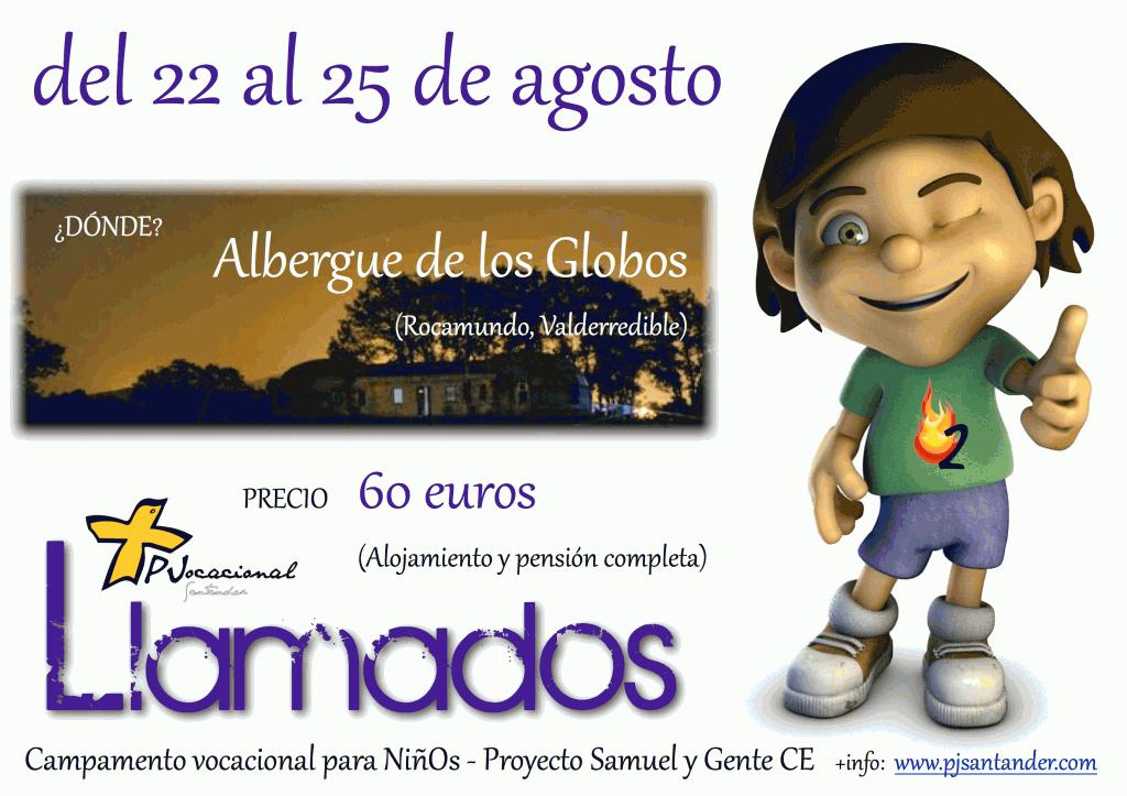 """Colonia Samuel: """"Llama2"""" – del 22 al 25 de agosto"""