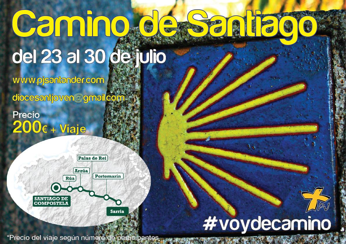Camino de Santiago  – del 23 al 30 de julio