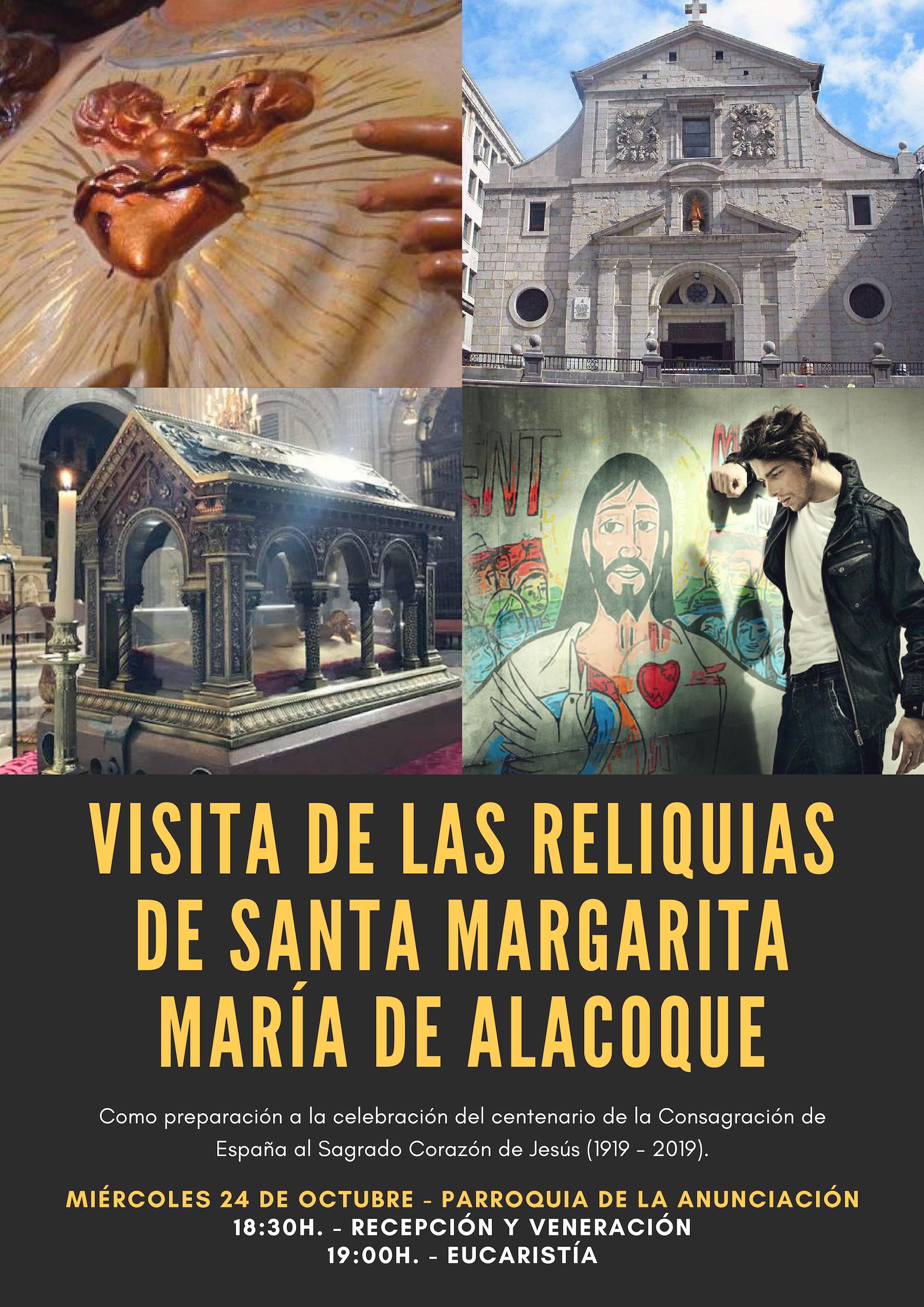 Resumen de la visita de las reliquias de Santa Margarita